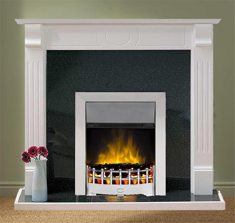 Super Eco Electric Fire And Surround Suite 187 Hw Electric Co Uk